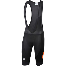 Sportful Neo Culotte con tirantes Hombre, black/orange sdr